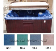 Spa Cover leather only Strong Hot tub cover skin only replacement vinyl any size, shape, swim spa cover leather(China)