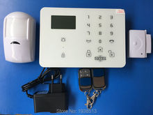 KING PIGEON Good quality 3G Alarm system with operation menu in multi-languages, APP WCDMA security system K9