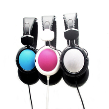 Fashion Children Stereo Gaming Wired Headphones With Mic 3.5mm Handfree Earphones for Xiaomi Phones Children Kids #92759(China)