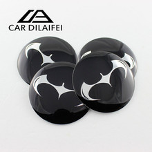 4pcs batman 56mm car wheel emblem badge wheel hub cap center cover hub caps decal for all cars chrome centre hubcaps black blue