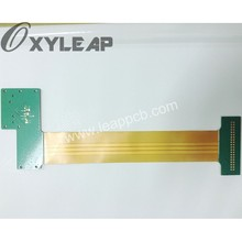 free shipping rigid flex printed circuit board/1mm fpc(China)