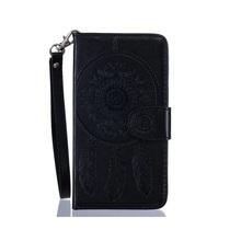 for HTC Desire 626 Leather Cases Cover Imprinted Dream Catcher Wallet Stand Leather Case for HTC Desire 626