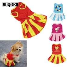 MUQGEW Hot Sale Dog Clothes Winter 2017 Small Dog Clothes Puppy Mini Dress Apparel Cachorro XT(China)