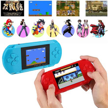 3 Inch 16 Bit Portable PXP3 Handheld Slim Station Video Game Console Retro +Free Game Card Console built-in 999999 Classic Games