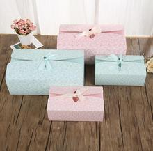 Pink And Green Beautiful Gift Box Package For Girl Friend Lovers Cake Candy Box Mooncake Box Packing Party Supplies