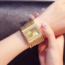 Luxury Crystal Diamond Gold Bracelet Watches Women Ladies Fashion Bangle Dress Watch Woman Clock Hour Relogio Feminino