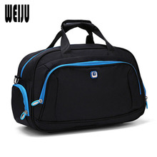 WEIJU 2017 New Men Travel Bags Women Hand Luggage Large Capacity Travel Totes Bag Casual Portable Duffel Bag YR0295