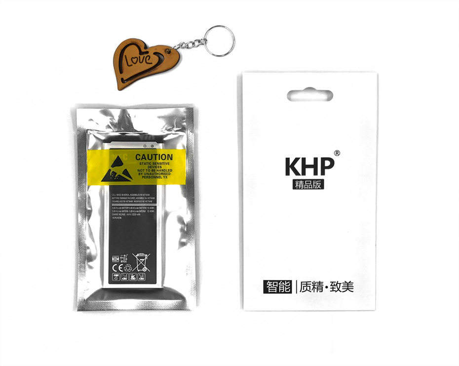 NEW 2017 100% Original KHP Phone Battery For Samsung Galaxy Note 4 N910 N910C N910A N910V Battery Replacement Mobile Batteries (18)