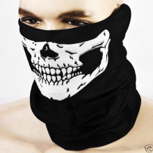 New Halloween Skeleton mask Outdoor Motorcycle Bicycle Multi function Headwear Hat Scarf Half Face Mask Cap Neck Ghost Scarf(China)