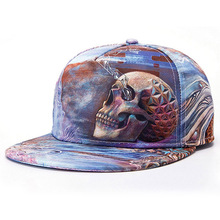 Easter Day Skull Head Full 3D Heat Transfer Printing Hat Special Cap Wholesale Monster Hats Novelty Design Caps