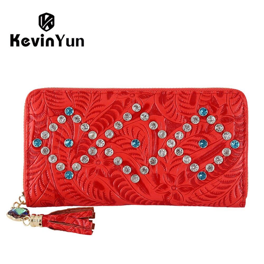 KEVIN YUN Designer Brand Fashion Women Wallets PU Leather Tassel Female Clutch Wallet Purse<br><br>Aliexpress