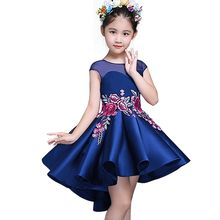 3-12 Years Kids Spring/Autumn Princess Dresses for Toddler Girl Children embroidery Fashion Clothing Baby Girl Dress