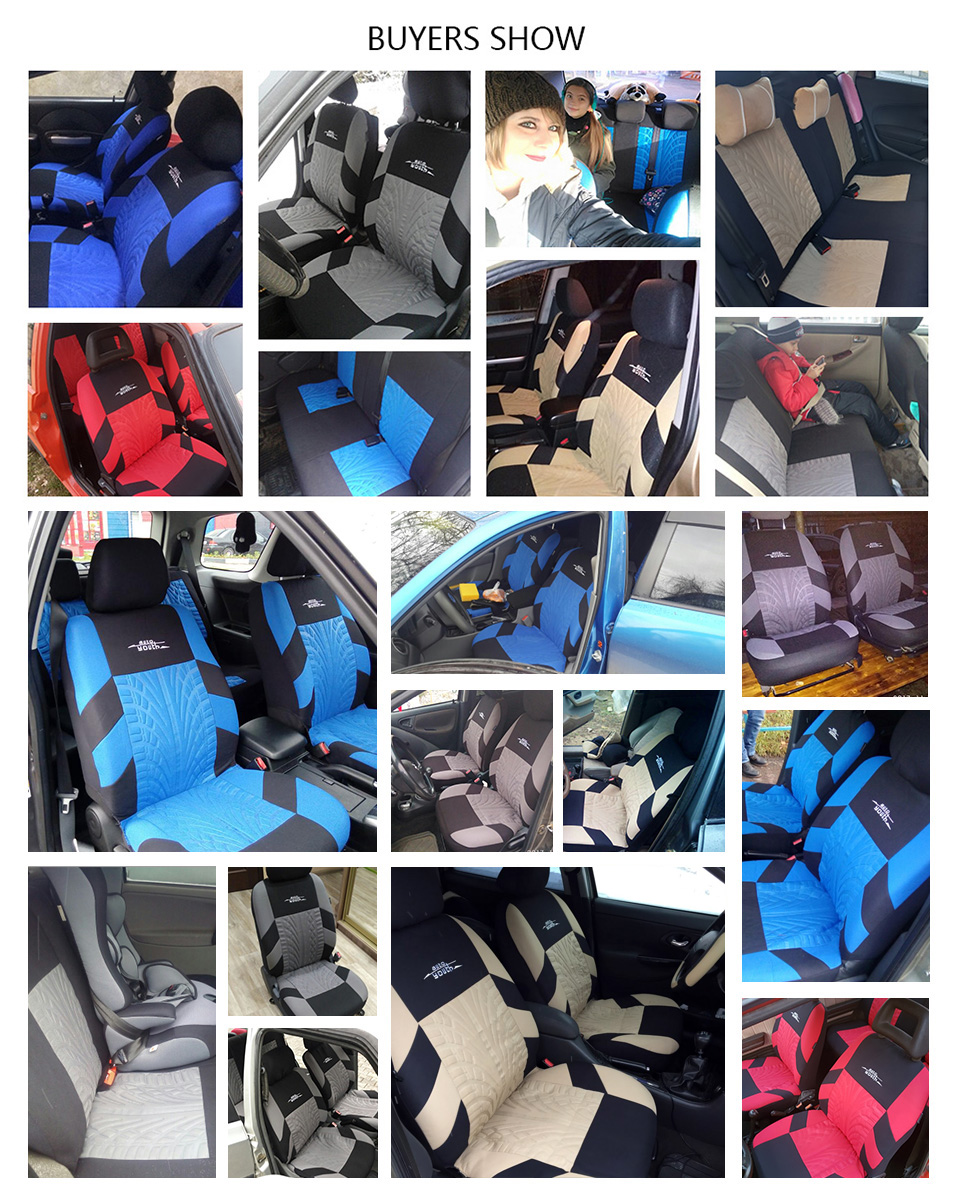 Embroidery Car Seat Covers