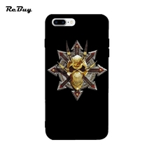Chaos Star Khorne For Iphone 7Plus Case Soft TPU Colorful Covers For Iphone 6/6s/6plus Ultra-thin Glaze For Iphone Case 7