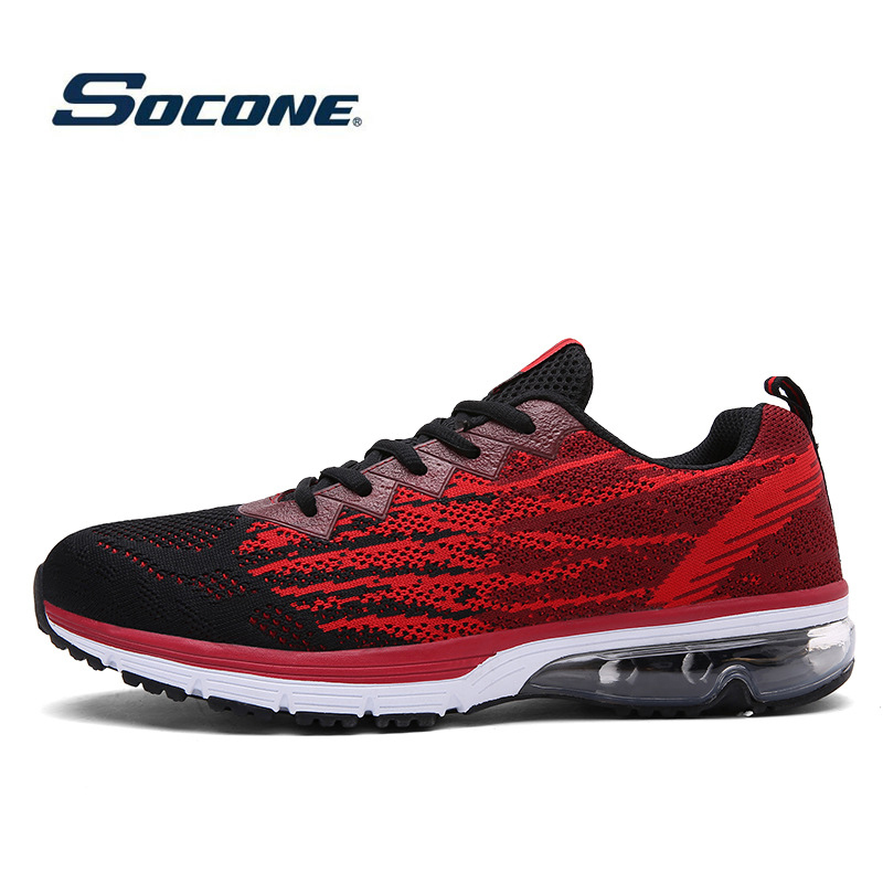 Running Shoes For Men Outdoor Sports Air Sole Sneakers Lovers Cushioning Air Sports Shoes Women Light Walking Trekking Sneakers<br>