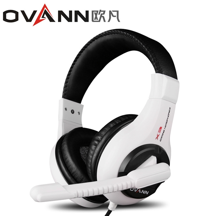 OVANN X3 Professional Headband Gaming Headsets with Microphone Volume Control Standard 3.5mm interface Soft Ear Pad Earphones<br><br>Aliexpress