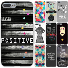 Graphic head text Hard Case Transparent Cover for iPhone 7 7 Plus 6 6s Plus 5 5s 5c SE 4 4s