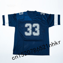 Retro star #33 Tony Dorsett Embroidered Name&Number Throwback Football Jersey(China)