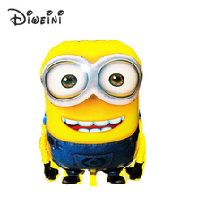 "58X42CM  23""X17"" Big Size Minions Balloons ball Classic Toys Christmas Birthday Wedding Decoration Party inflatable air balloon"