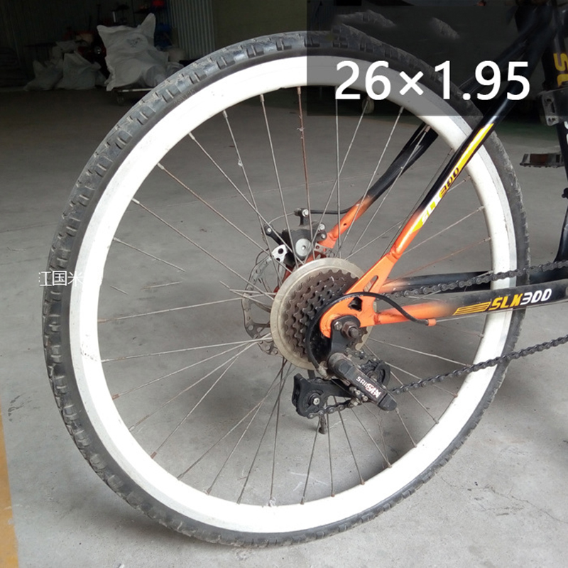 Bike Bicycle Solid Tire Wheel PU Tube Non-pneumatic Tyre  24*1 3//8 Cycling