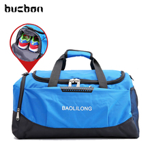 Large Capacity Simple Style Waterproof Fitness Gym Bag Men Women Portable Diagonal Sports Travel Shoulder Bag Gym HAB100(China)