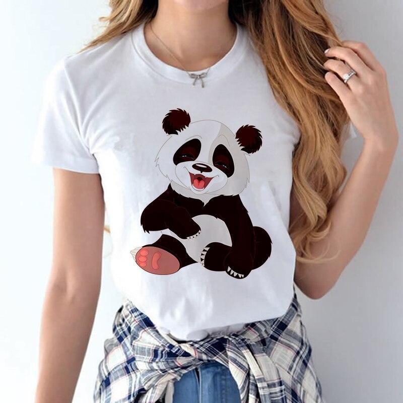 100% Coton 2018 Femmes T chemises D'été Amour Imprimé T-shirt Bande Dessinée Occasionnel de Court Manches Shirt Tops Plus La Taille Blanc T-shirt 24