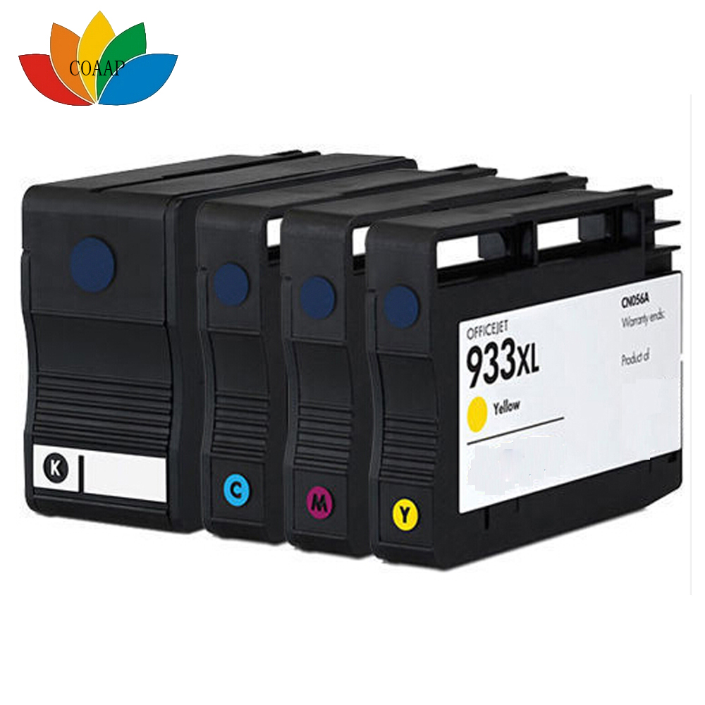 4pk Compatible hp 932XL 933XL Ink Cartridge for HP OfficeJet 6100 6600 6700 7100 7110 7510 7610 7512 7612 Printer V3 chip<br><br>Aliexpress