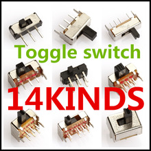 Toggle switch 14 kinds  3pins 6pins FREE SHIPPING Europe and the United States Minimum price