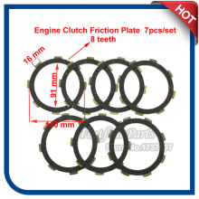 Engine Clutch Friction Plate For CG CB 200cc 250cc Dirt Bike  4 Wheelers ATV Quad