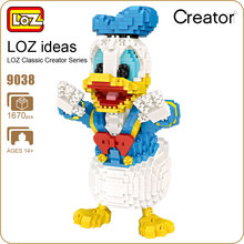 LOZ Micro Blocks Cute Cartoon Animal Action Figure Anime Diamond Building Plastic Assembly Toys Children Educational 9038 - ideas Store store