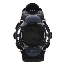 Wholesale5pcs*New Hot Sale Black Sport Pulse Heart Rate Calorie Counter Watch with Monitor