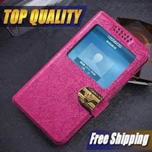 New For LG Google Nexus 4 E960 Case  Flip Luxury Leather 7 Colors cell phone cases covers to Nexus 4 E960 with view windows