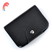 Buy Credit Card Holder 100% Genuine Leather Women Men ID Wallet Purse Vintage Bank Business Card Holder Protector Organizer for $4.99 in AliExpress store