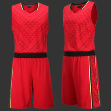 Newest Sport Basketball Clothes Men Set Big Size L-5XL Custom Jersey Short Suit Boy Basketball Set Maillot De Basket-ball Homme