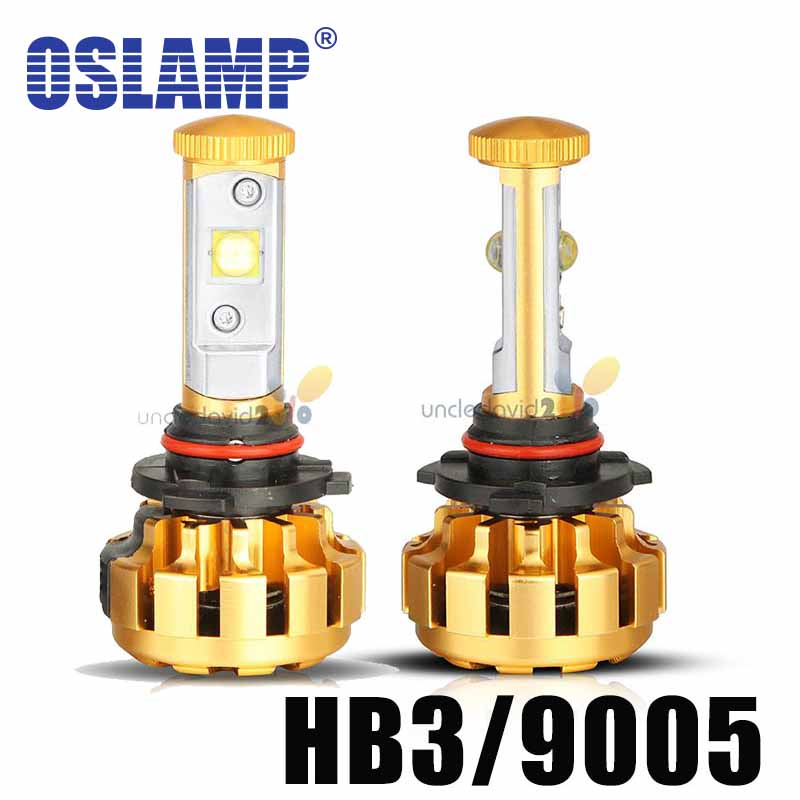 Oslamp 60w/pair HB3 LED Headlight Bulb 9005 6000k 12V 24V Auto IP68 6000lm Car Front Head LED Fog Light SUV 4x4 4WD GT<br><br>Aliexpress