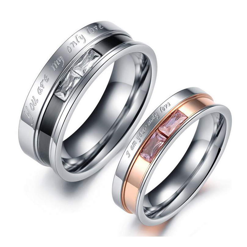Excow Jewelry 4 Pcs 1MM Stainless Steel Knuckle Stacking Rings Set for Women Girls Wedding Engagement Rings