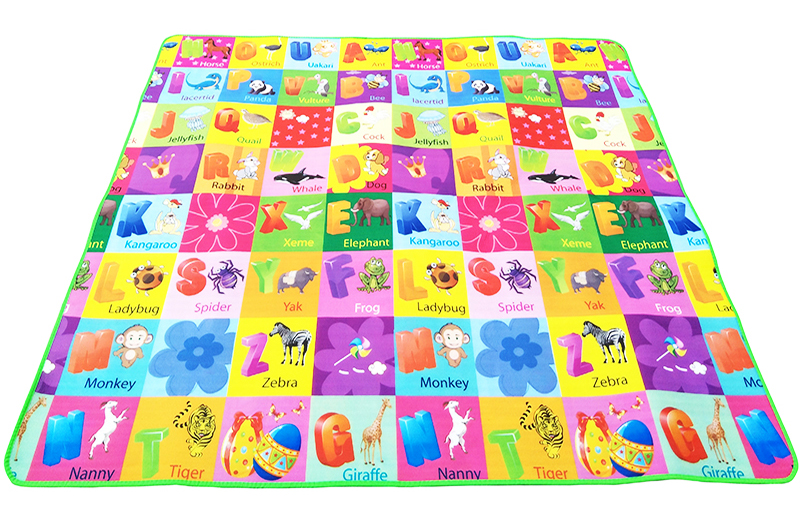 0.5cm Double Side Baby Play Mat Eva Foam Developing Mat for Children Carpet Kids Toys Gym Game Rug Crawling Gym Playmat Gift 19