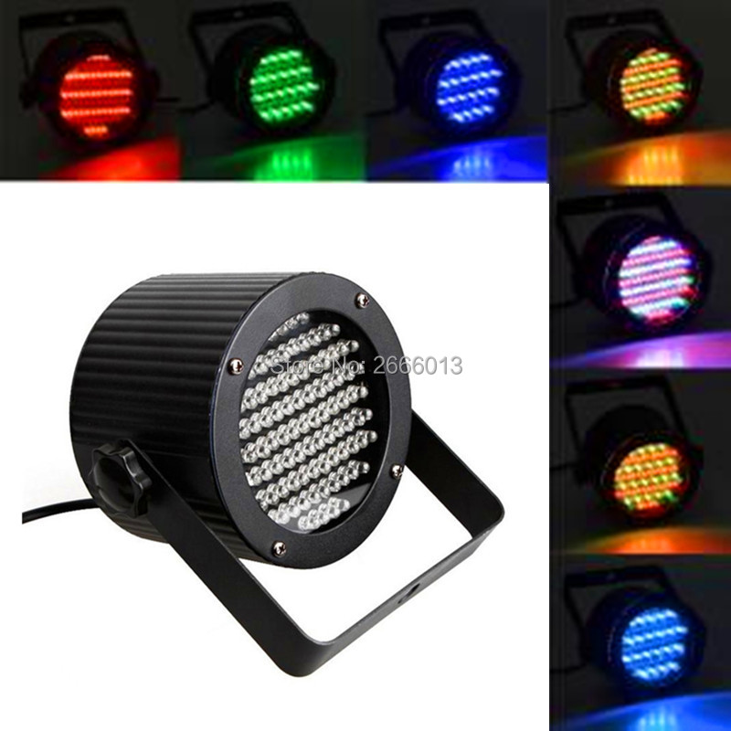 86PCS LEDs Flat par RGB mixed color Stage Lights dyed wash Effect Disco DJ Bar Effect UP Lighting Show DMX Strobe for Party KTV <br>