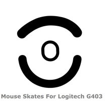 Teflon 3M 0.6mm mouse feet mouse skates for Logitech G403 Gaming mouse with free Alcohol pad for clean high quality