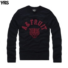 Long sleeve t shirt O-Neck men Spring and Autumn wear causal letter embroidery(China)