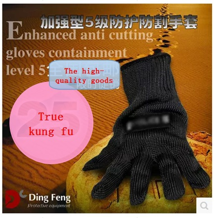 Protective gloves resistant glass cutting gloves Cut resistant gloves 5 wire take knife gloves<br><br>Aliexpress