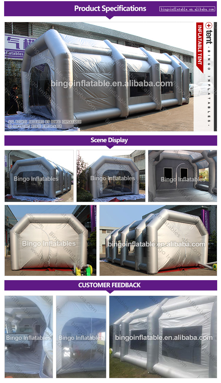 inflatable spray booth-inflatable car spray booth