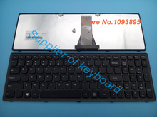 Original NEW English keyboard for lenovo Ideapad G505S FLEX 15 G500S S500 Z510 laptop English keyboard 25211050 V-136520PS1-US