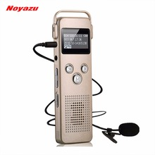 NOYAZU A20 Original 8G Voice Activated Recorder Support Telephone Recording Digital Audio Voice Recorder Mp3 Player Dictaphone