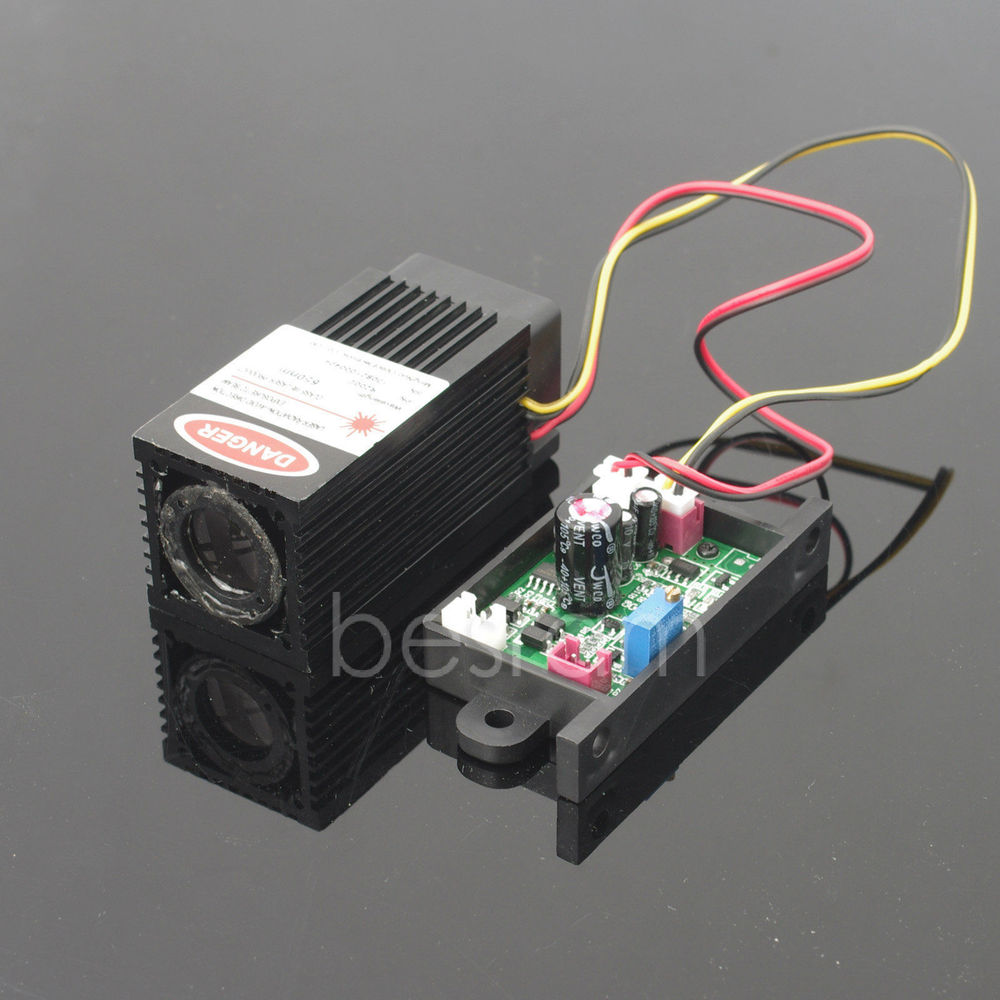 Industrial fat beam Focusable 200mW 650nm Red Dot Laser Diode Module TTL<br><br>Aliexpress