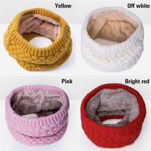 Hiirgin Winter Autumn Fleece Neck Warmer Snood Tube Cotton Warm Thermal Motorcycle Bike Ski Cycling Running(China)