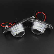 18LED 3528SMD License Plate Light Lamp For Honda CRV Jazz Crosstour Odyssey Insight FRV Free Shipping