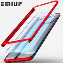 EMIUP 360 Degree Phone Cases for Samsung S7 Edge Case S6 S8 Plus Shockproof Hard Armor Cover for Samsung Galaxy J5 2016 Case(China)