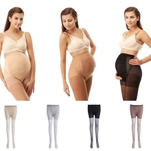 New Arrivel Pregnant Women Maternity Tights Leggings Elastic Pants Pantyhose Stockings(China)