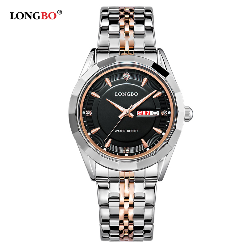 2017 Brand Movt Quartz Watches Women Stainless Steel Back Water Resistant Datejust Mens Wrist Watches relogio masculino 80164<br>